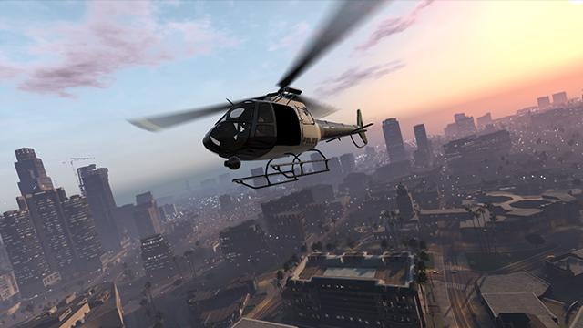 Hubschrauber in GTA V