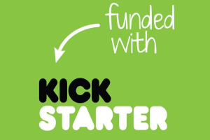 founded with Kickstarter