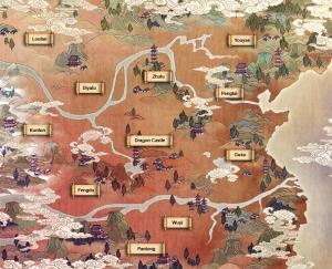 Altes China - Loong Karte