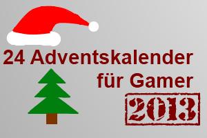 Online Adventskalender 2013 für Gamer